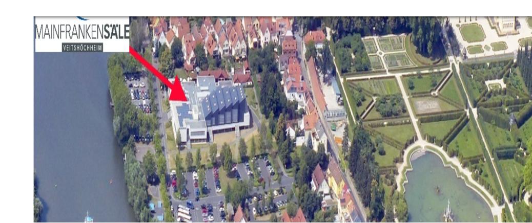 Mainfrankensälen in Veitshöchheim / Würzburg